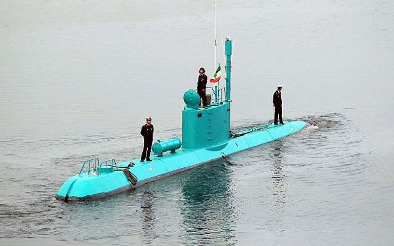 Iran,Mỹ,tàu ngầm,bảo bối,chiến tranh