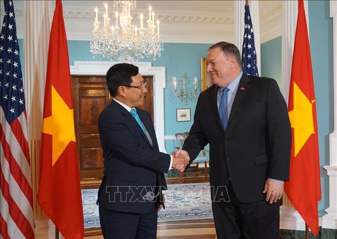 Phạm Bình Minh,Việt-Mỹ
