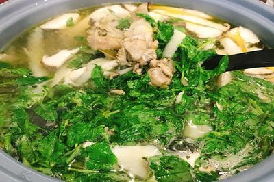 Sài Gòn mưa nấu lẩu gà lá é đãi cả nhà ăn cho ấm bụng