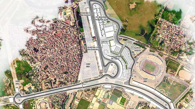 Các dự án trên đại lộ Thăng Long 'hứa hẹn' tăng giá nhờ đường đua F1