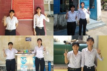 """2 nữ sinh Phú Yên biểu cảm """"10 ảnh như 1"""" khiến dân mạng thích thú"""