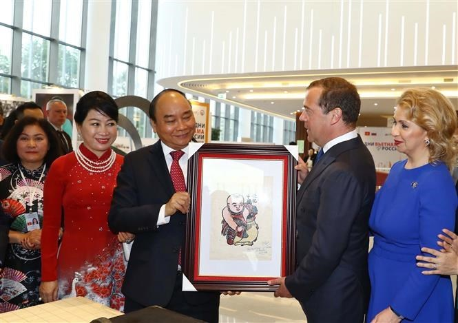 Exhibition on Vietnam, Russia cultures opens in Moscow
