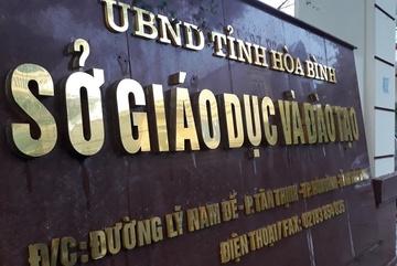 26 đảng viên bị xem xét kiểm điểm vì liên quan đến gian lận thi cử tại Hòa Bình
