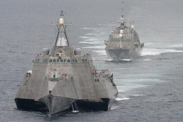 Tàu chiến ven biển Mỹ: Chưa đánh đã bại