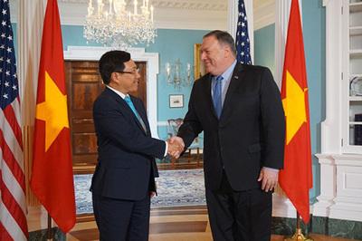 Hoạt động của Phó Thủ tướng Phạm Bình Minh tại Hoa Kỳ