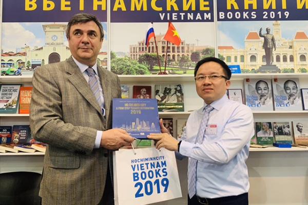 TP Hồ Chí Minh tham gia Hội sách quốc tế ở Saint Petersburg