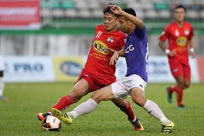 Lịch thi đấu vòng 12 V-League: HAGL đại chiến Hà Nội