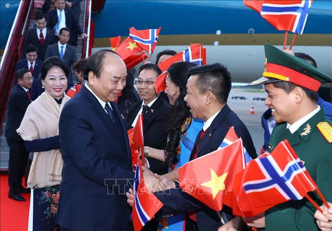 Thủ tướng Nguyễn Xuân Phúc,Nguyễn Xuân Phúc,Thủ tướng thăm Na Uy,Việt Nam-Na Uy