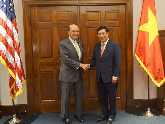 Vietnam, US to augment ties in economy-trade investment, defence