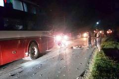 Xe khách giường nằm va chạm xe máy tại Yên Bái, 2 thiếu niên thiệt mạng