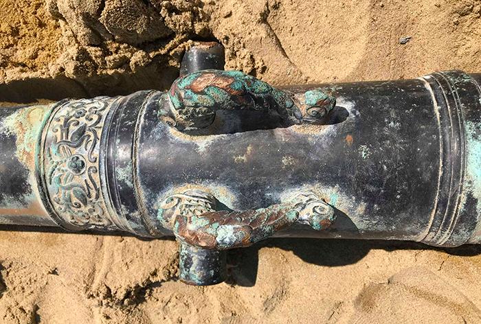 Phát hiện súng thần công 200 năm tuổi ở Đà Nẵng
