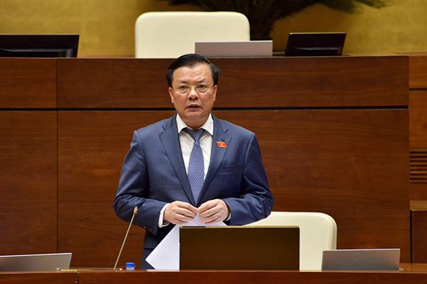 Tổng kiểm toán,Hồ Đức Phớc,Bộ trưởng Tài chính,Đinh Tiến Dũng
