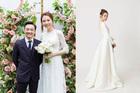 Đàm Thu Trang khoe ảnh mặc váy cưới trước ngày lên xe hoa với Cường Đô La