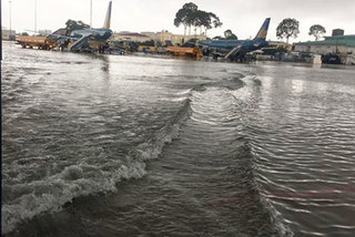Tan Son Nhat Airport at risk of flooding during rainy season