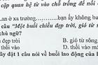Tranh luận sôi nổi về chủ ngữ của một câu hỏi Tiếng Việt