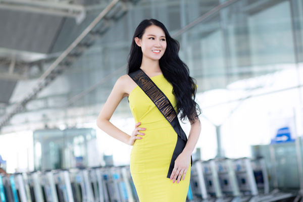 Vietnam's Lan Anh to compete for Miss Tourism Worldwide title