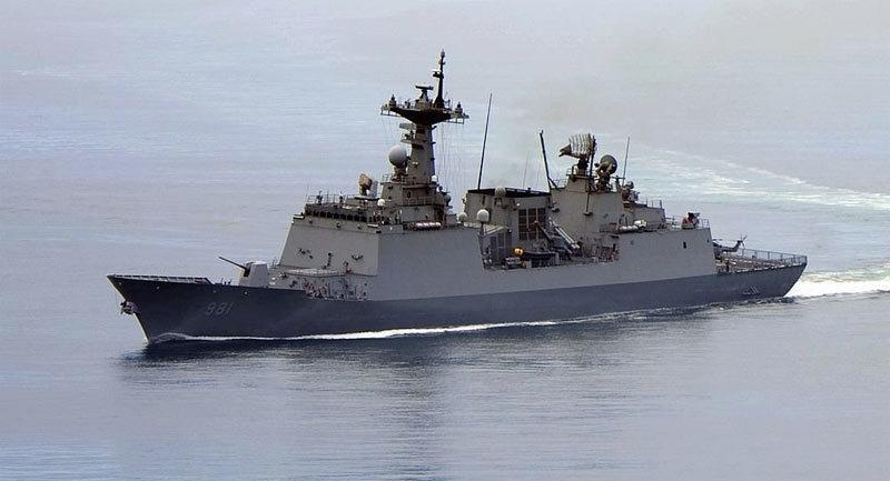 Tàu khu trực Hàn đứt cáp, 1 thủy thủ thiệt mạng, 4 người bị thương