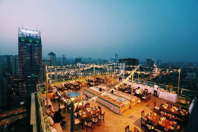 Hanoi coffee shops offer fantastic skyline views
