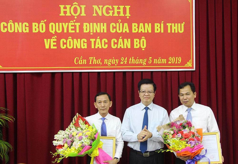 Thứ trưởng Lê Quang Mạnh làm Phó bí thư Thành ủy Cần Thơ