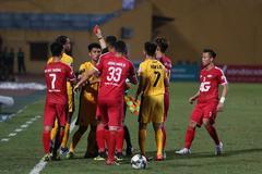 Viettel 1-0 Hải Phòng: 2 đội cùng bị đuổi người (H2)