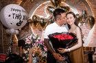 Vợ mang bầu lần ba, Tuấn Hưng tổ chức sinh nhật ngọt ngào