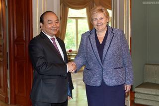 Thủ tướng hội đàm với Thủ tướng Na Uy