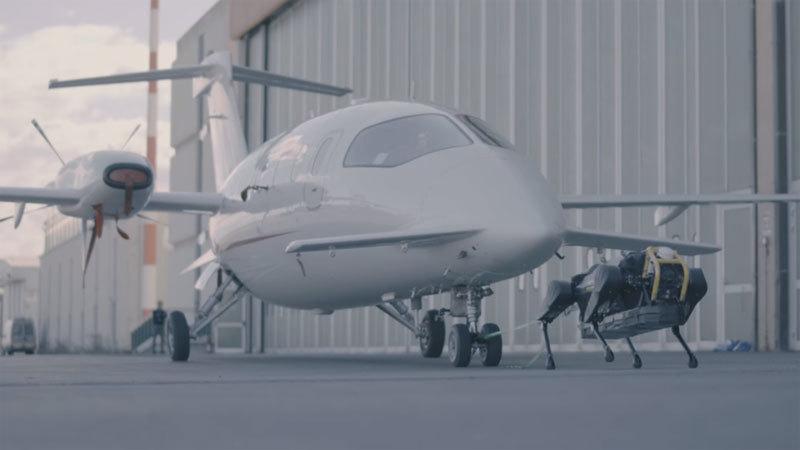 Italia,robot chó,máy bay