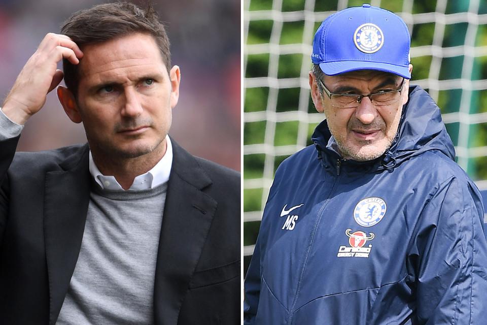 Chelsea,Frank Lampard,Maurizio Sarri,Juventus