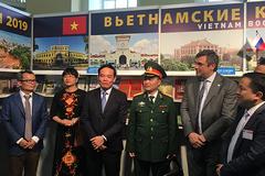 Phó Bí thư thường trực Thành ủy TPHCM dự Hội sách Quốc tế ở Saint Petersburg