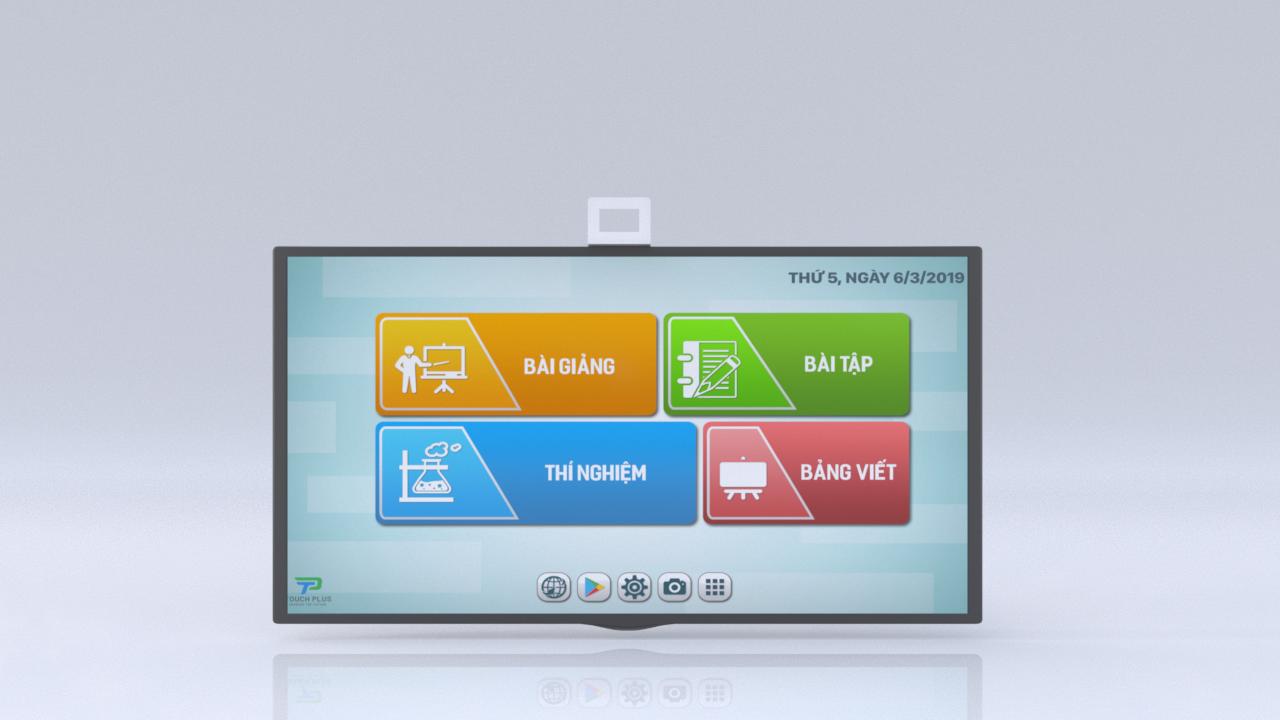 TouchPlus - thiết bị hô biến màn hình tivi thường thành màn hình cảm ứng