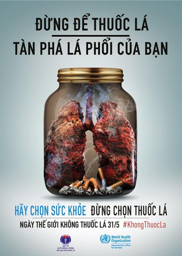 2019, khẩu hiệu 'Đừng tàn phá lá phổi'