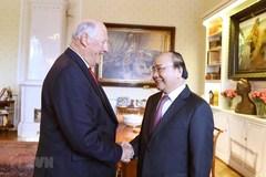 PM Nguyen Xuan Phuc meets with Norwegian King