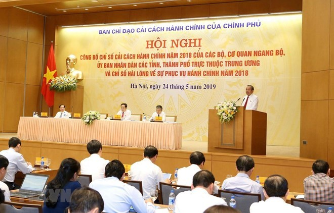 Quang Ninh, VN central bank lead 2018 administrative reform index