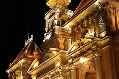 French architecture buildings in Ho Chi Minh City