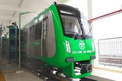 Cận cảnh công nghệ rửa tàu tự động tại ga đường sắt Cát Linh - Hà Đông