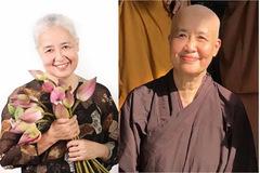 Chuyên gia ẩm thực nổi tiếng Nguyễn Dzoãn Cẩm Vân xuống tóc đi tu