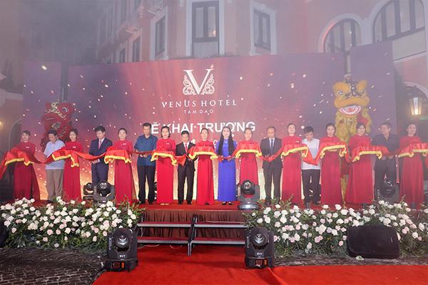 Khai trương Venus Hotel- khách sạn 4 sao độc đáo ở Tam Đảo