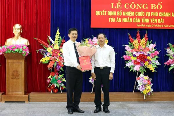 Chánh án TAND Tối cao bổ nhiệm nhân sự mới