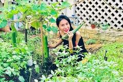 Khu vườn đủ thứ rau quả sạch bên trong biệt thự của Công Vinh - Thủy Tiên