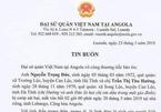 Chị dâu và em chồng người Hà Tĩnh bị cướp sát hại ở Angola