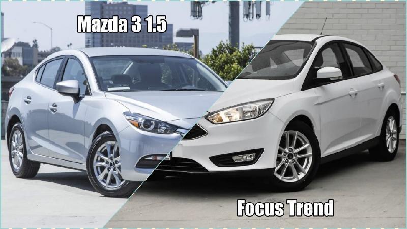 So sánh Focus Trend và Mazda 3 1.5: Chọn Mỹ hay Nhật?