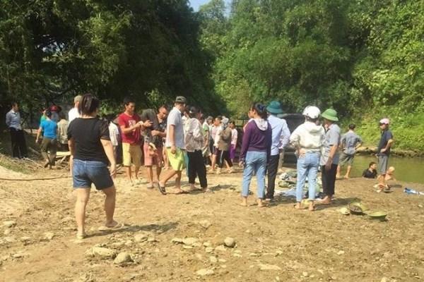4 học sinh Lào Cai tử vong khi tắm suối