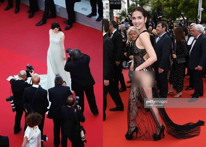 Khắc Tiệp và Lý Nhã Kỳ rạn nứt tình cảm vì vụ Ngọc Trinh tại Cannes?