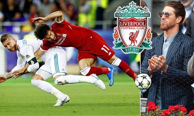 Sergio Ramos cuốn gói khỏi Real, gia nhập Liverpool - Ảnh 1.