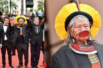 Giữa dàn mỹ nữ sexy, tộc trưởng thổ dân là người nổi bật nhất