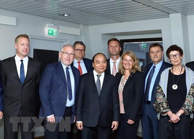Vietnamese PM meets with top Norwegian legislator, leaders of Norwegian groups