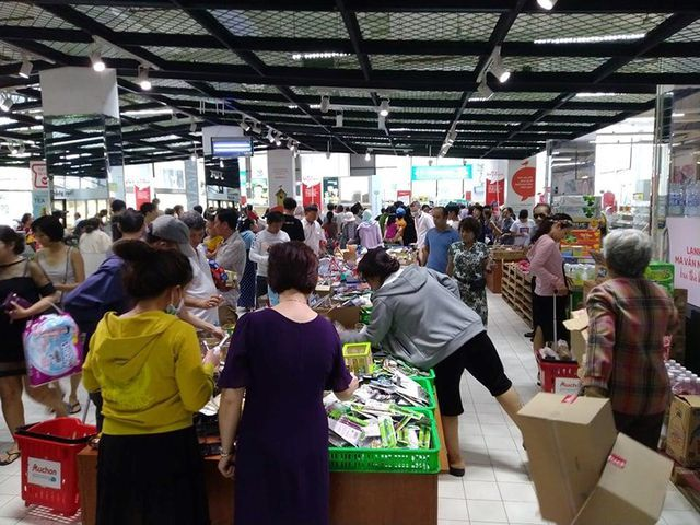 Auchan shocked at sales riot