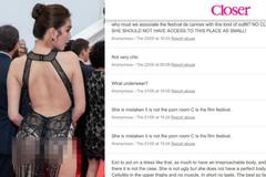 Người Pháp: Hãy cấm những cô gái như Ngọc Trinh trên thảm đỏ Cannes