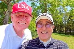 Lãnh đạo Mỹ-Nhật chơi gôn giữa lúc căng thẳng