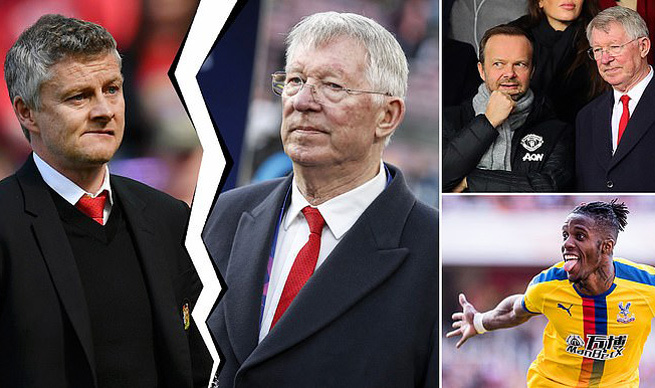 Sir Alex Ferguson,Sir Alex,Solskjaer,MU,Ed Woodward